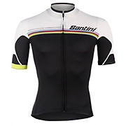 Santini UCI Rainbow Fashion Full Zip Jersey 2014